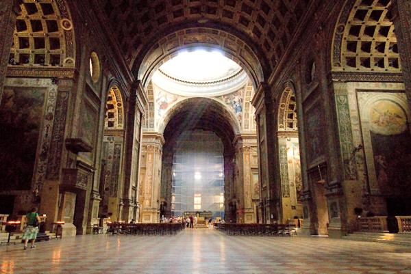 The Basilica Sant'Andrea de Mantua