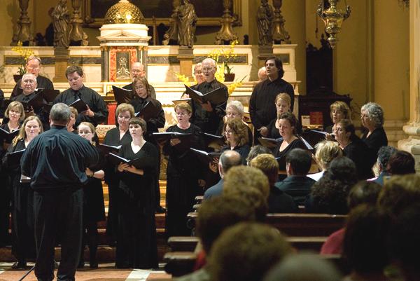 The Chorale performs at Valleggio Sul Mincio