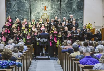 "The Northern Virginia Chorale presents, ""Joyful Spring Delights"" Concert of spring, 2018."