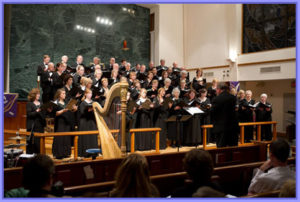 "The Chorale performs ""A Celtic Celebration"" concert in March of 2012."