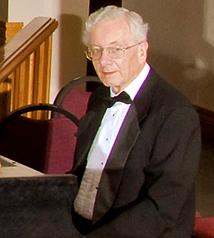 Northern Virginia Chorale Accompanist Emeritus, Dr. Raymond Freeman.