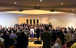 Soloist featured with the NIH Philharmonia at Beethoven's 9th Symphony performance