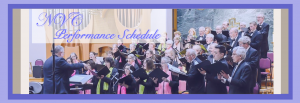 Northern Virginia Chorale performing during their Season