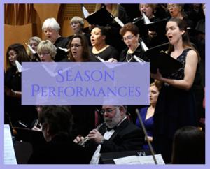 Season Performances photo of singers
