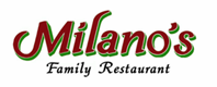 Milanos Family Restaurant logo
