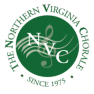 NVC Green circle logo with G Clef on wavy music bar site icon